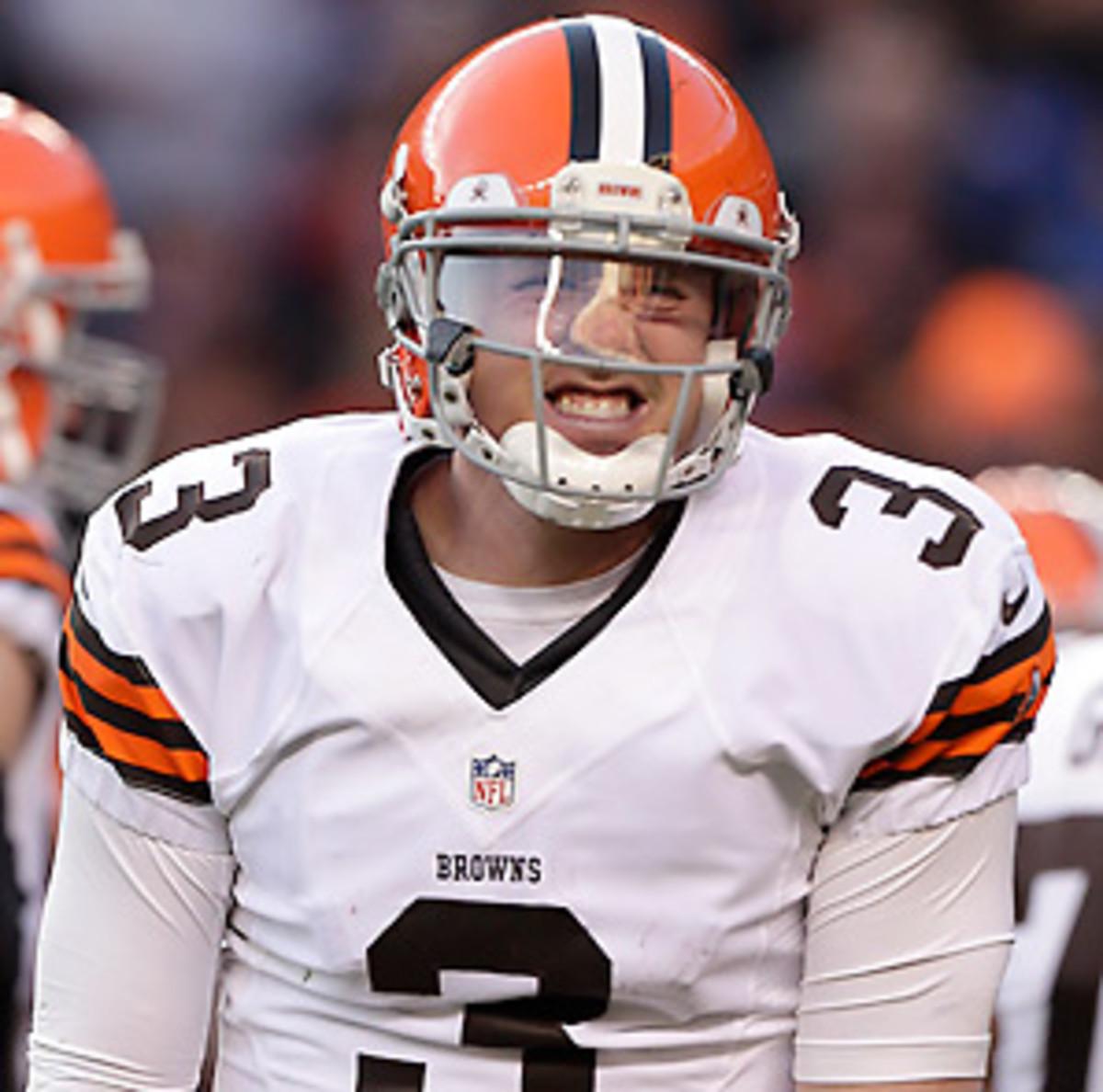 Brandon Weeden not necessarily Cleveland Browns' 2013 starter ...