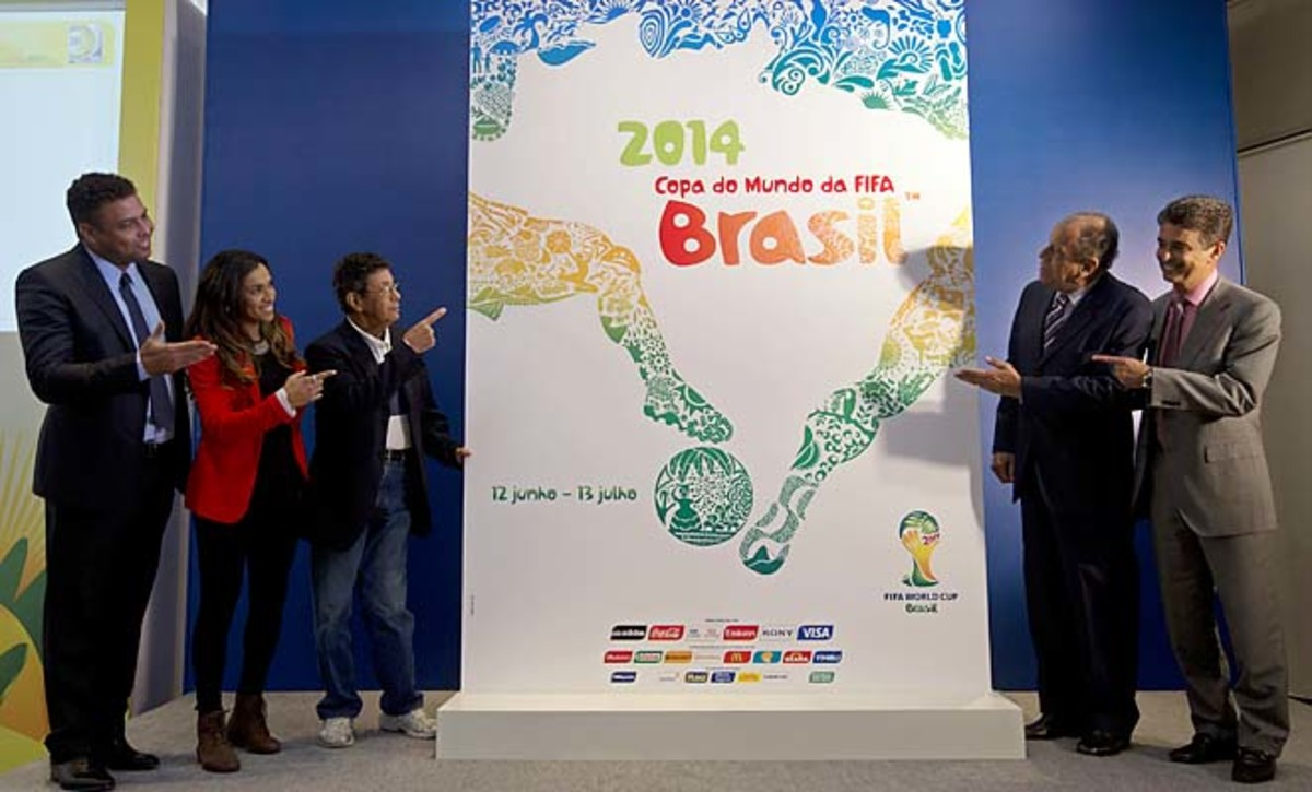Brazil will host the 2014 World Cup in fewer than 500 days.
