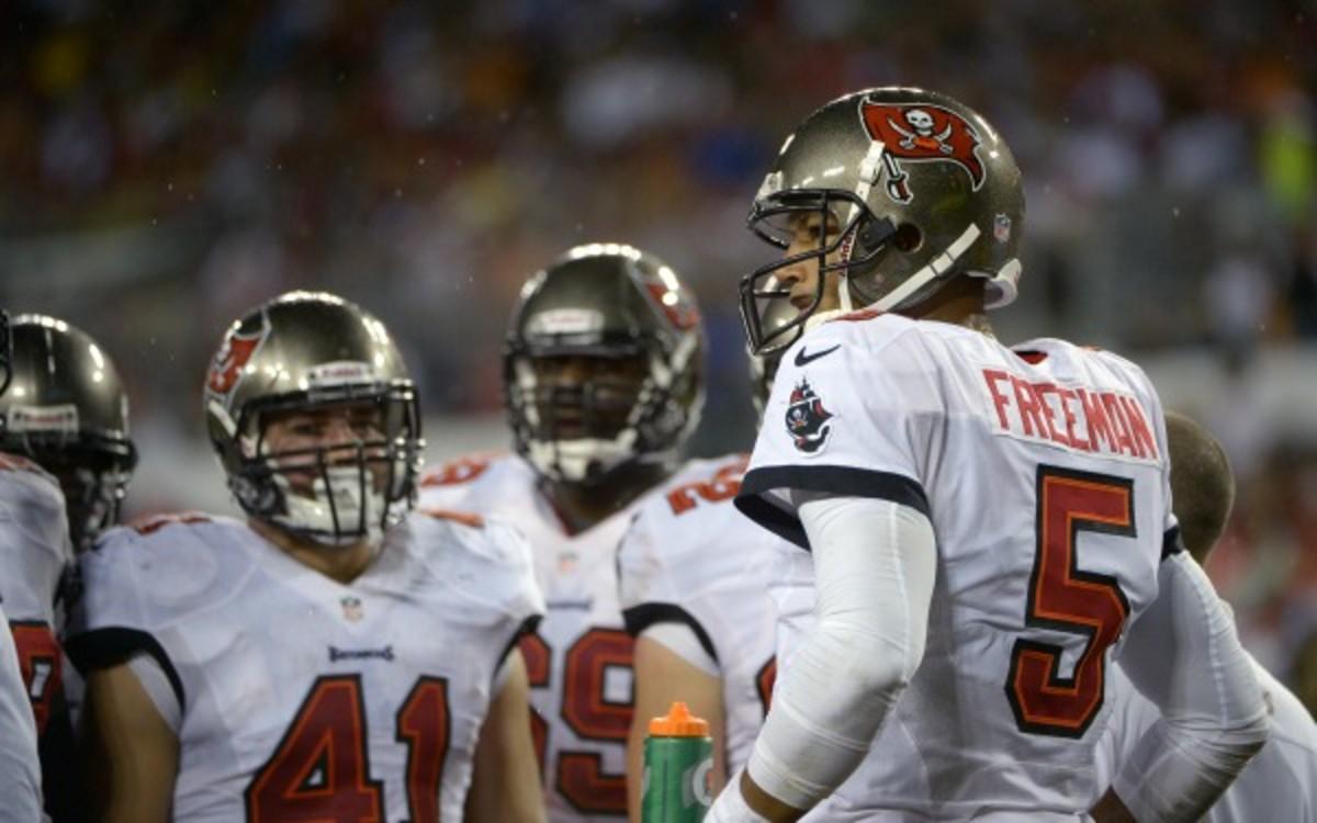 Bucs quarterback Josh Freeman