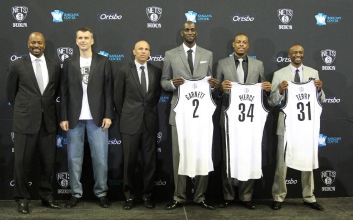 Nets owner Mikhail Prokhorov has lofty expectations. (Nathaniel S. Butler/NBAE)