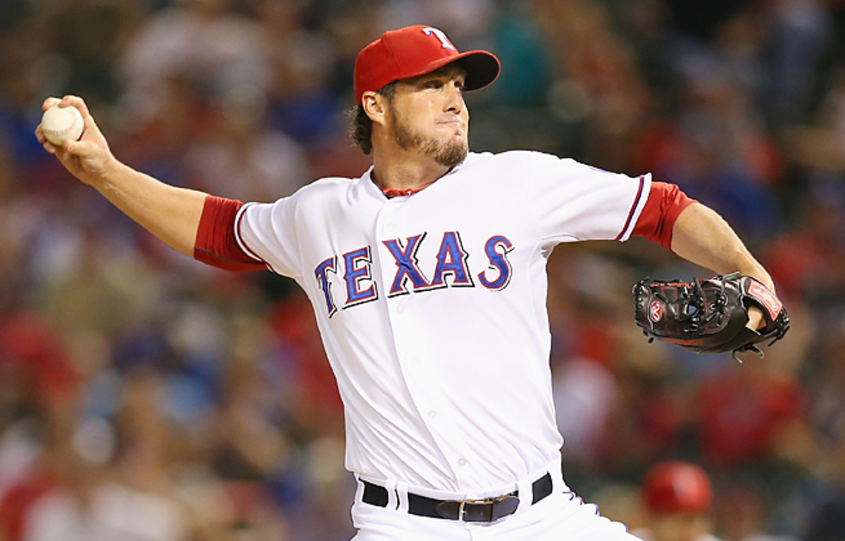 Joe Nathan had 80 saves over the last two seasons for the Rangers, but will be a free agent this winter.