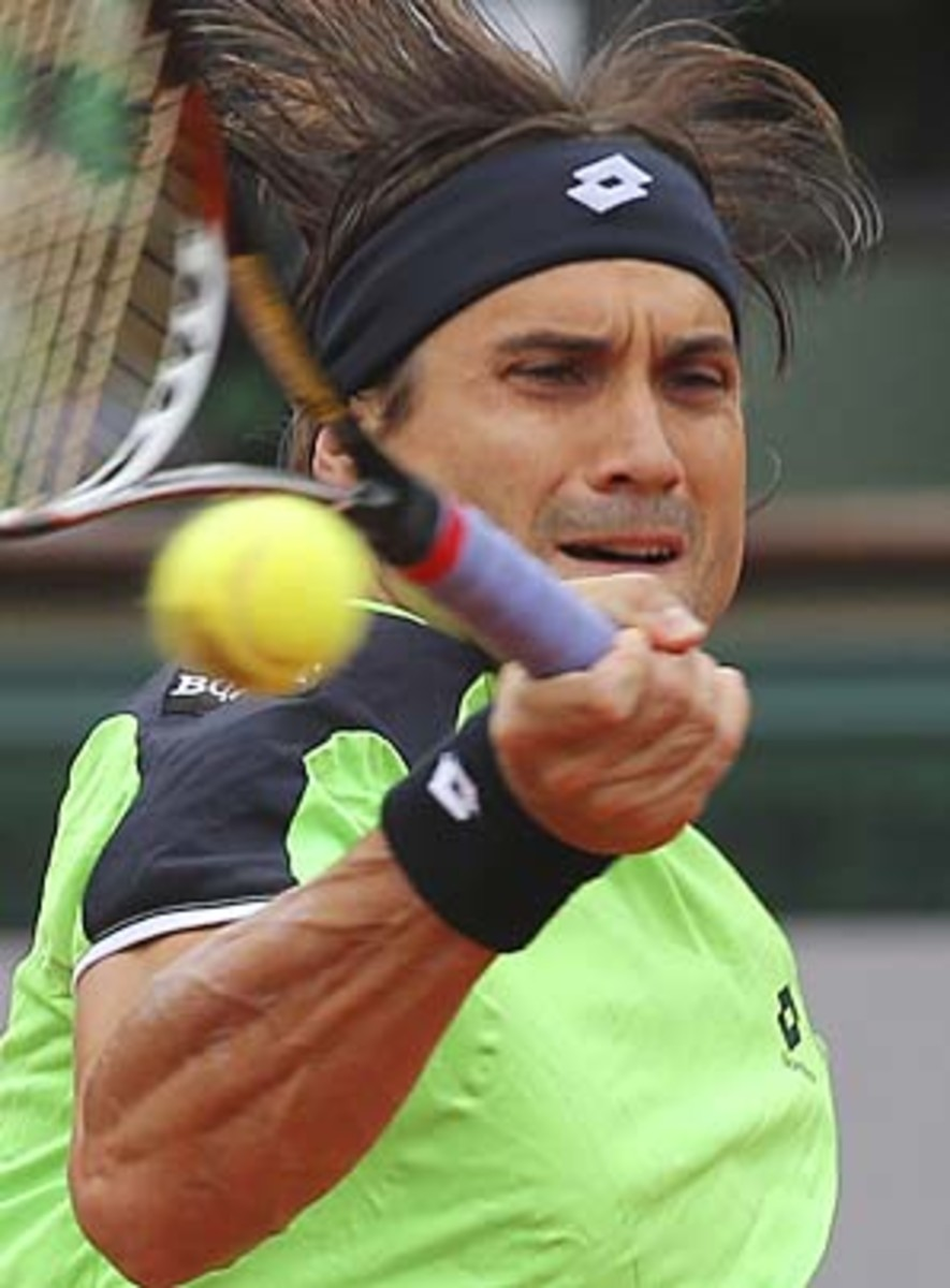 Ferrer, 31, is into his first Slam final in 42 major appearances. (Michel Euler/AP)