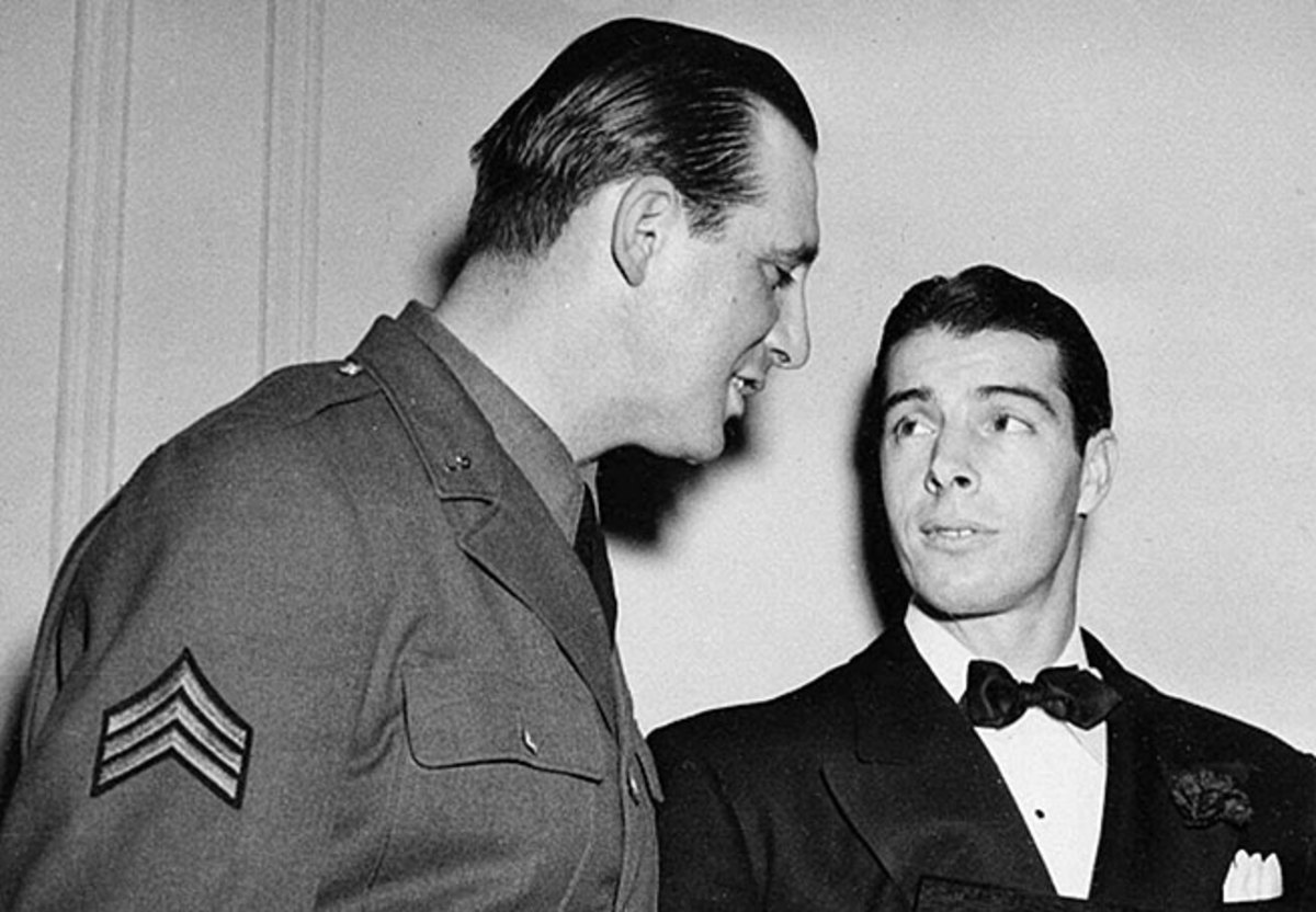 Greenberg and Joe DiMaggio were among hundreds of players who served during World War II.