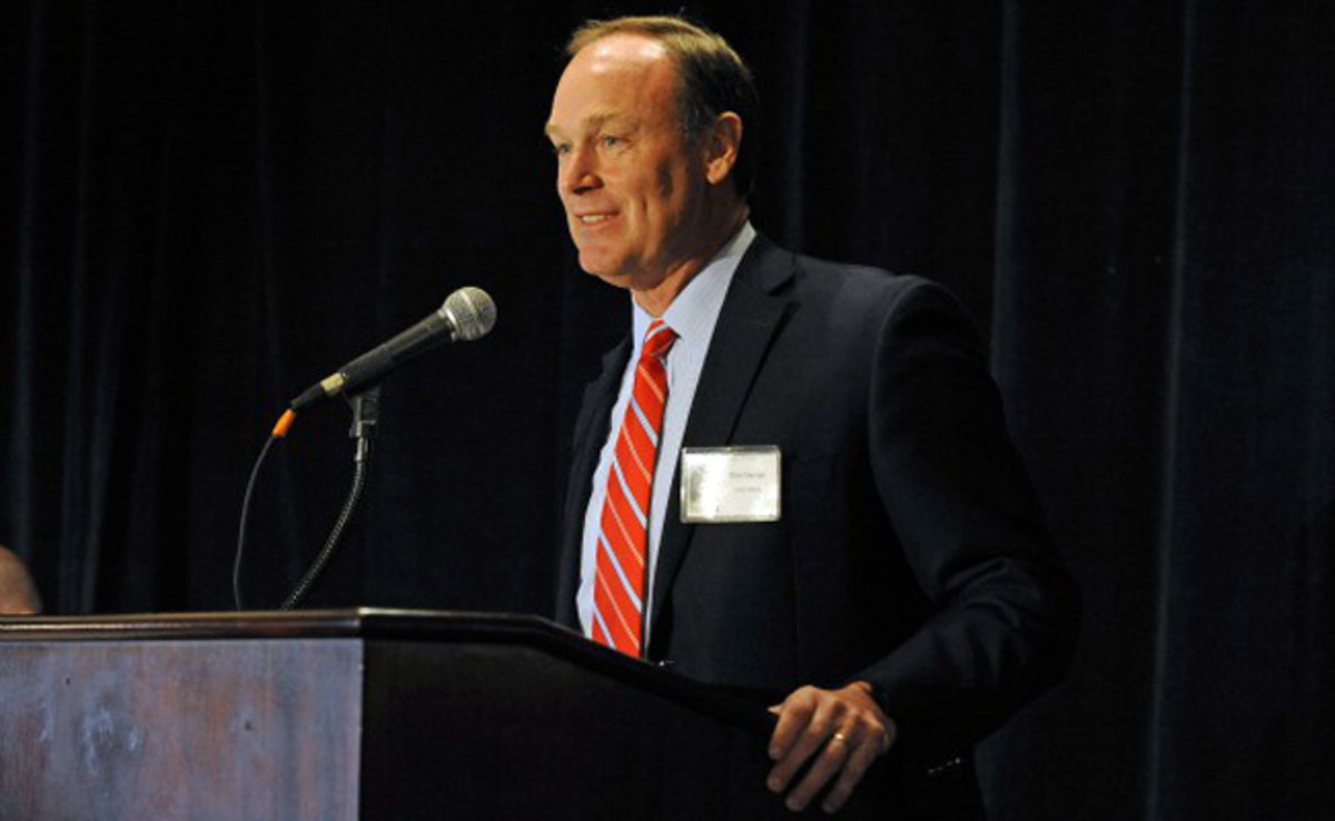 Rick George served as Colorado's assistant athletic director for football operations from 1987-91.