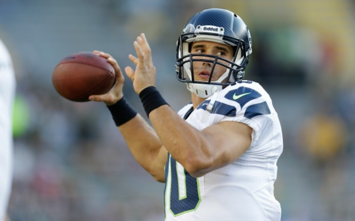 Brady Quinn has signed with the New York Jets. (Mike McGinnis/Getty Images)