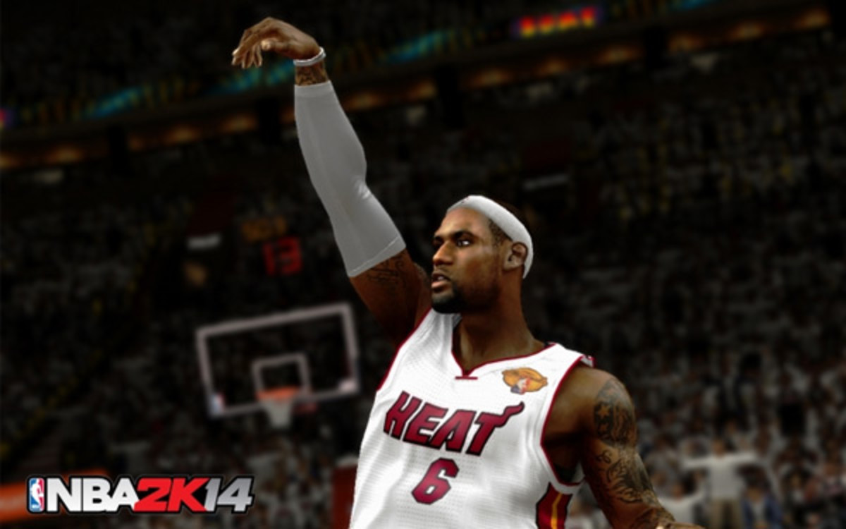 NBA 2k13 - Lebron James