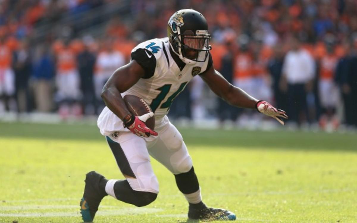 NFL suspends Jaguars WR Justin Blackmon indefinitely for substance abuse violation. (Doug Pensinger/Getty Images)