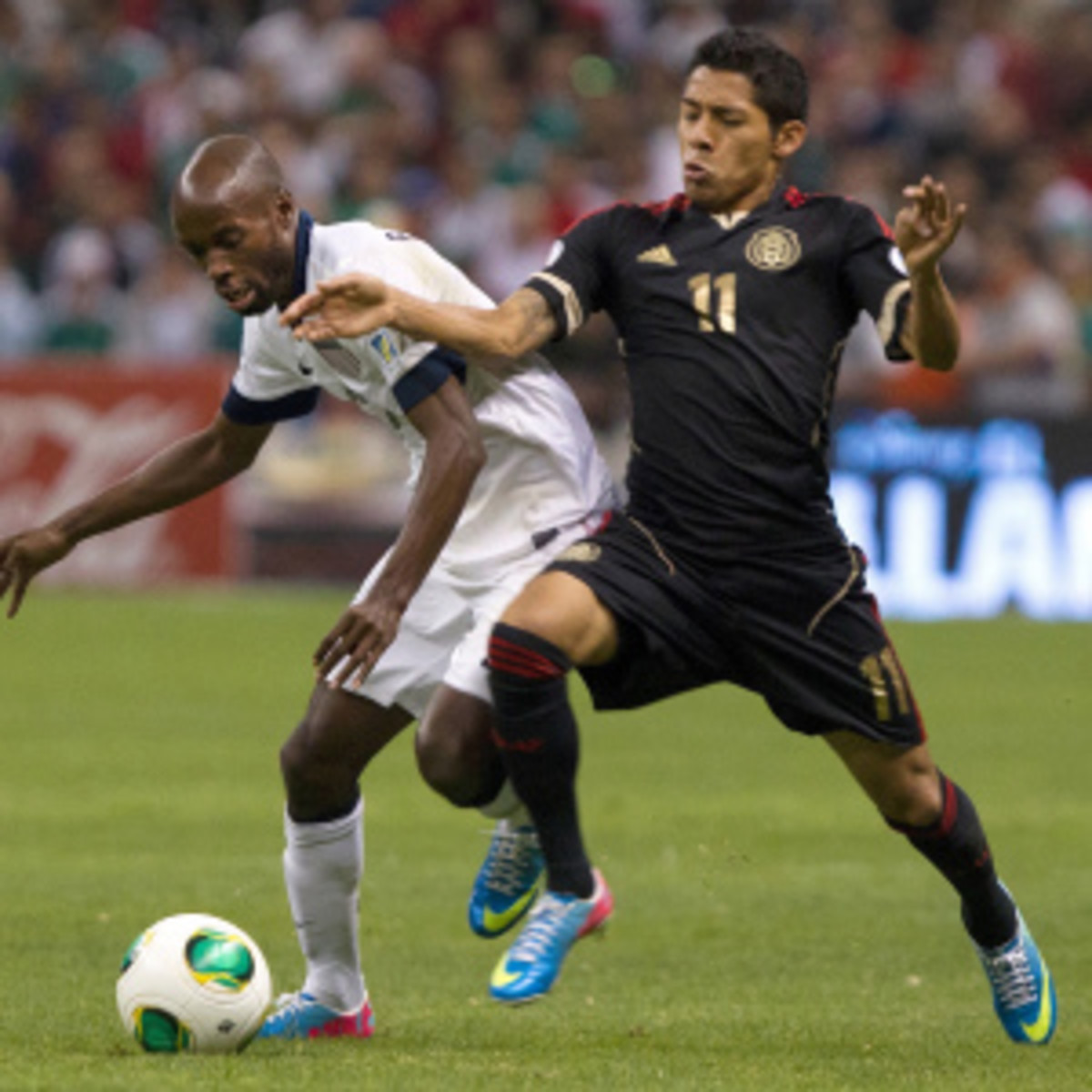 ESPN drew a 1.6 overnight rating for its broadcast of the U.S.-Mexico match. (Miguel Tovar/Getty Images)
