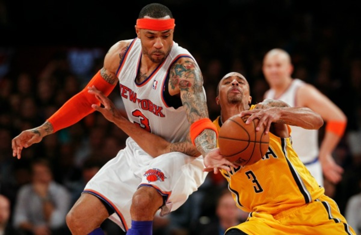 Kenyon Martin was whistled for more fouls than any NBA player. (Jeff Zelevansky/Getty Images)