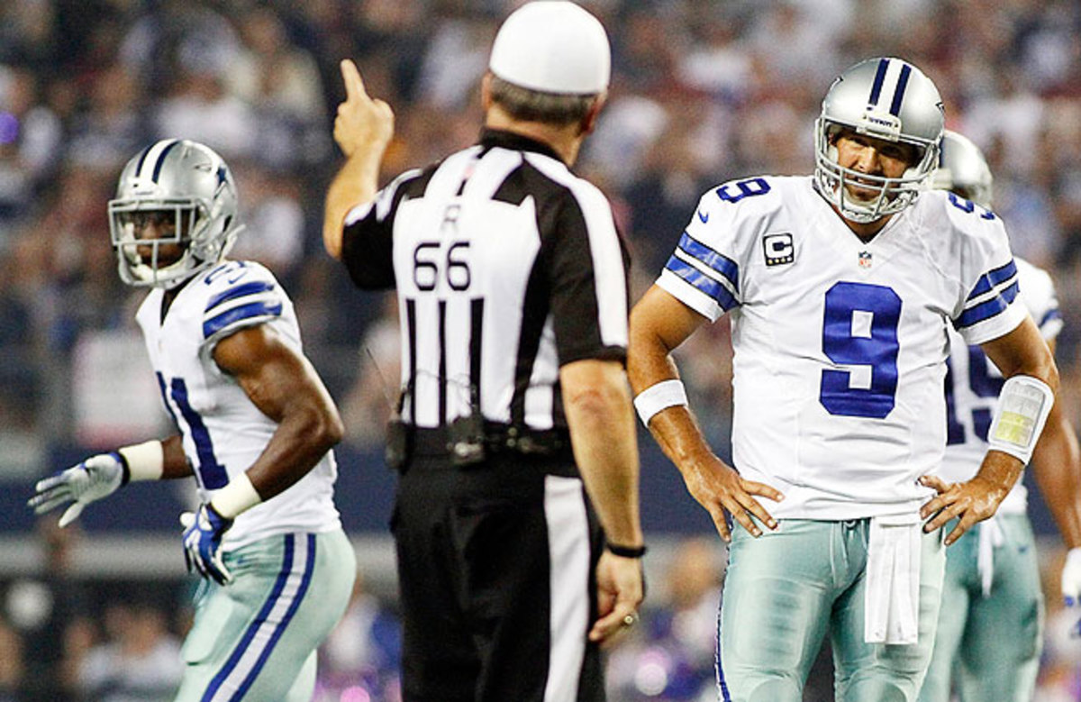 A loss at Detroit dropped Dallas to 4-4 in 2013 and an incredible 132-132 in the regular season since 1997.