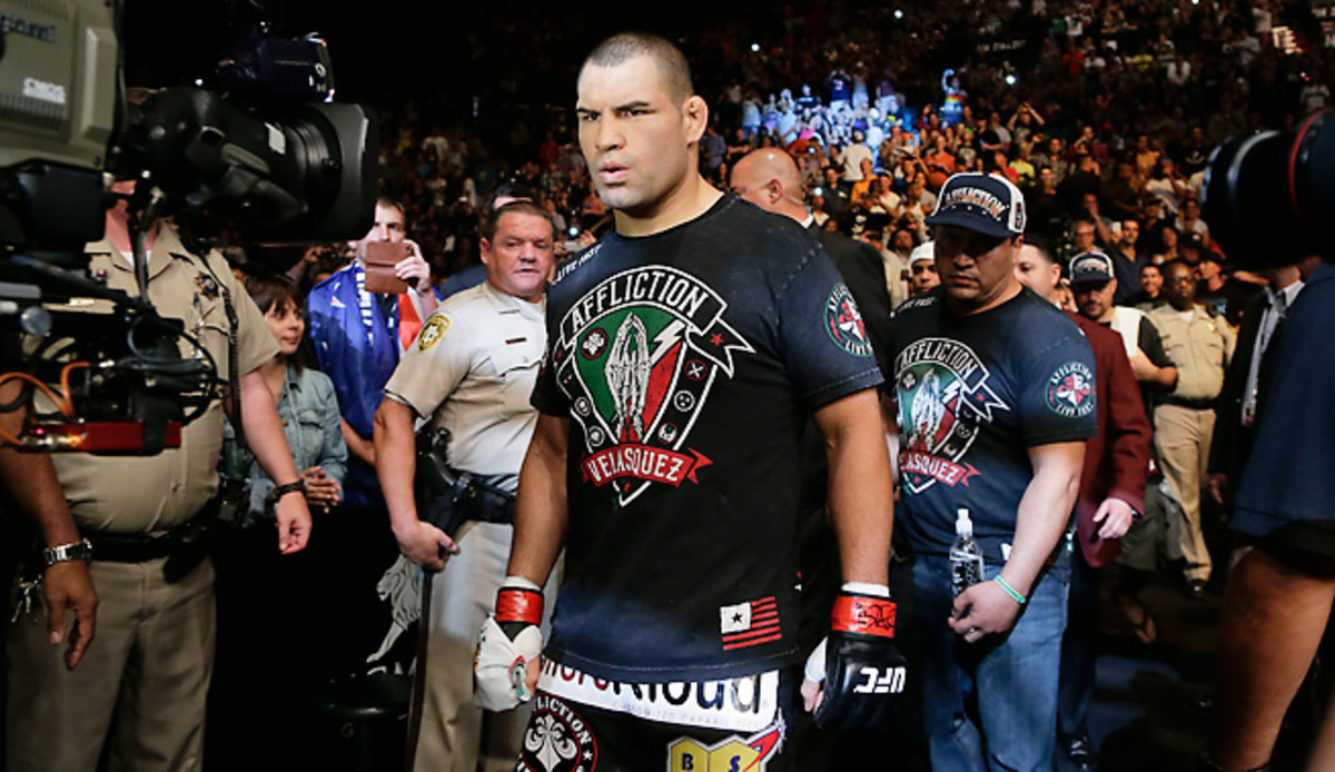 """Cain Velasquez made quick work of """"Bigfoot"""" Silva this past weekend with a first-round win at UFC 160."""