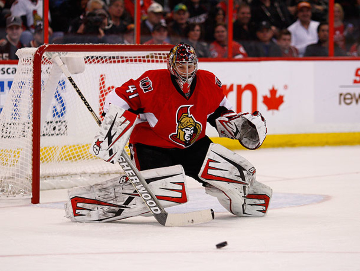 Shooters might see a bit more daylight between Craig Anderson's pads next season.