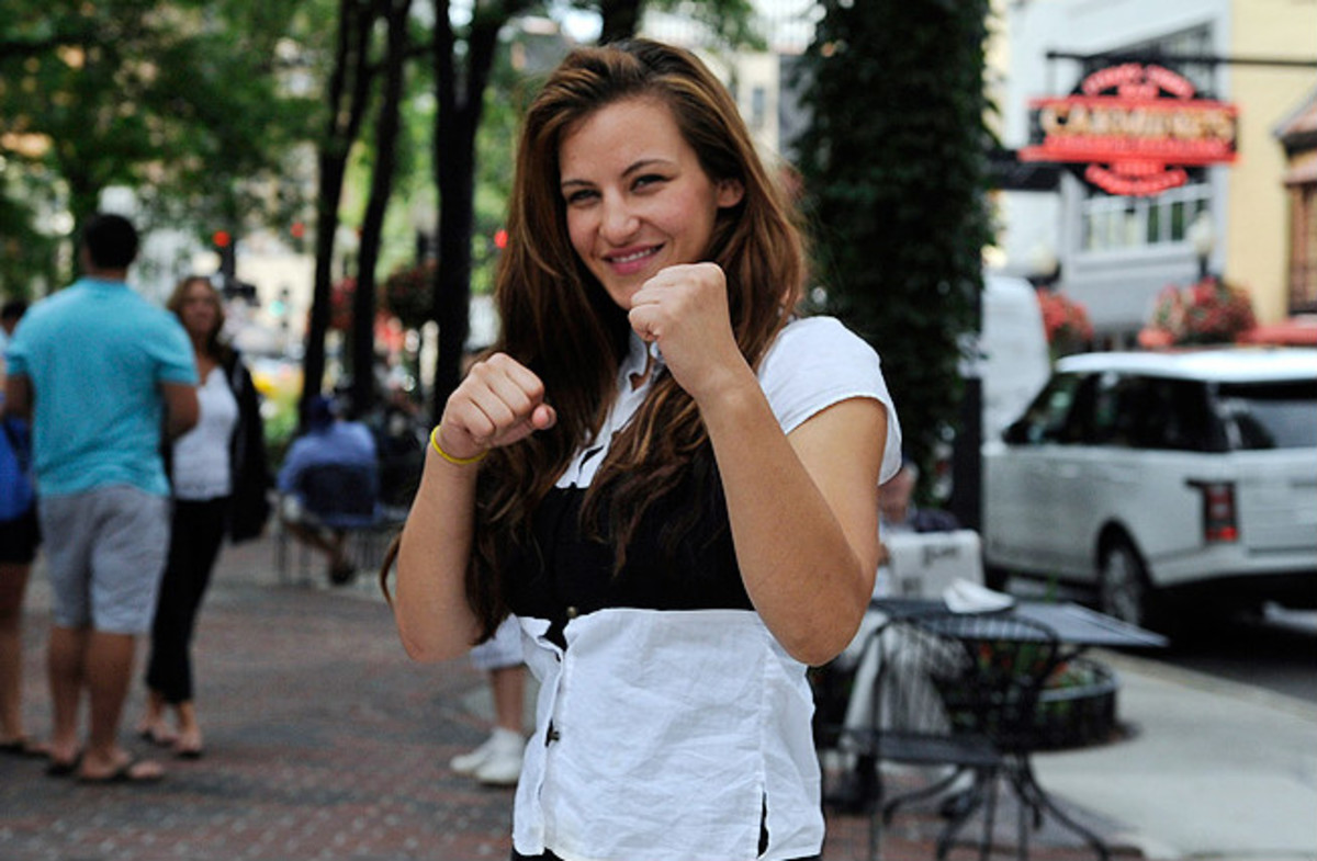 MMA fighter Miesha Tate will star opposite rival Ronda Rousey on The Ultimate Fighter 18.