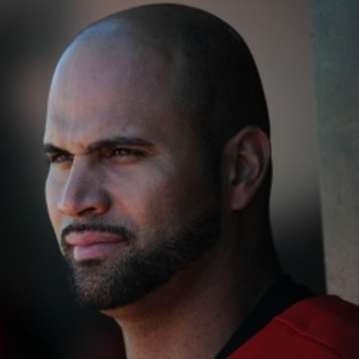 Angels first baseman Albert Pujols has eight years and $212 million left on his contract beyond this season. (Lisa Blumenfeld/Getty Images)