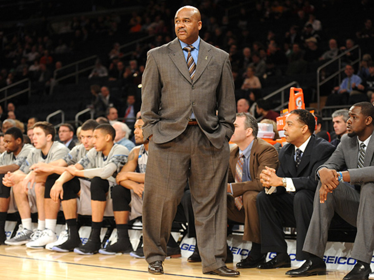 John Thompson III's Hoyas have had a rough go in the postseason, but have generally excelled throughout the year. (Mitchell Layton/Getty Images)