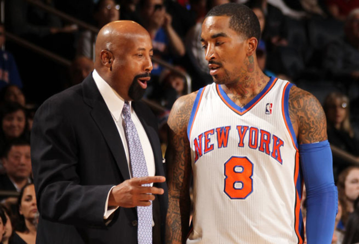 Knicks guard J.R. Smith was suspended five games for violating the NBA's anti-drug policy.