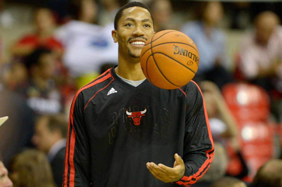 Derrick Rose is expected to play his first game in Chicago since tearing his ACL in 2012.
