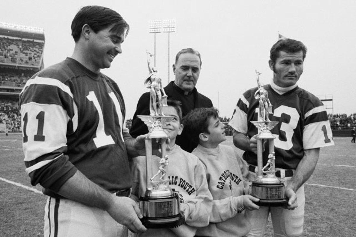 Jim Turner and Don Maynard