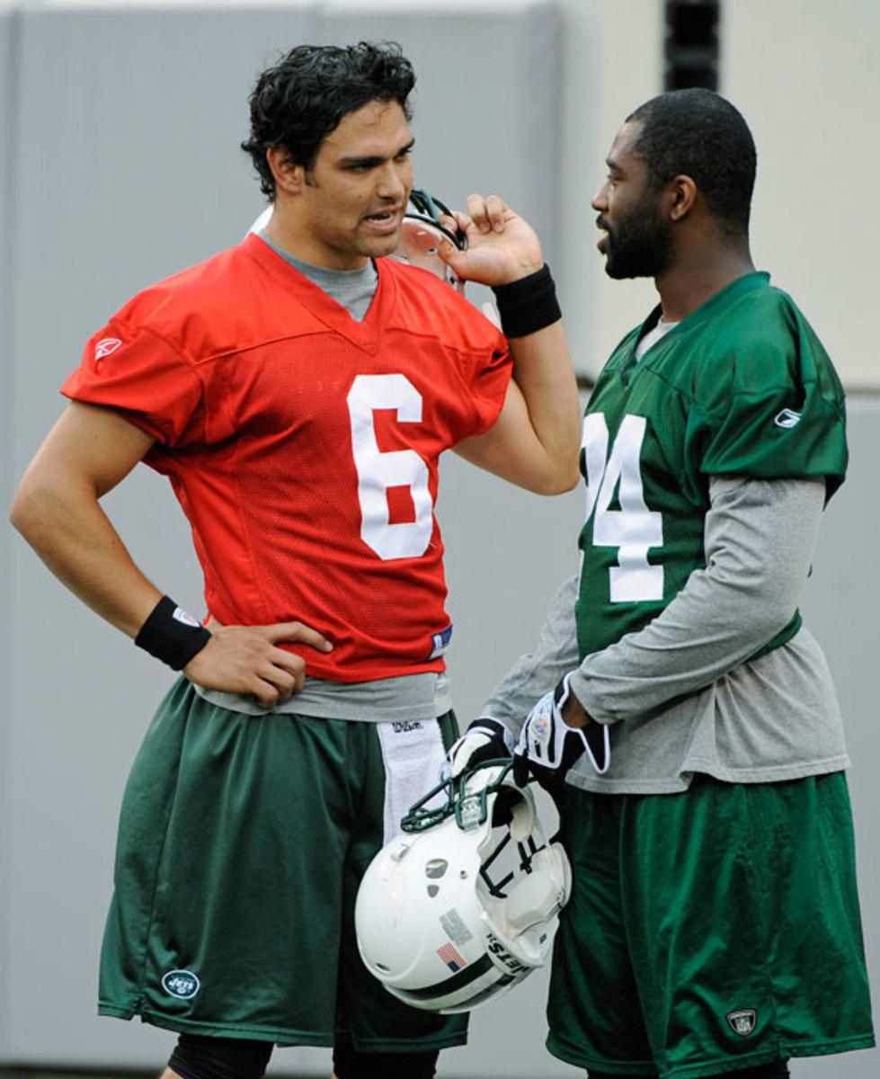 Mark Sanchez and Darrell Revis