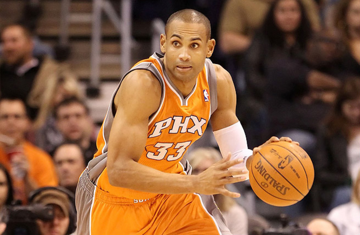 Grant Hill spent five years with the Phoenix Suns before heading to the Clippers for his final season in the NBA.