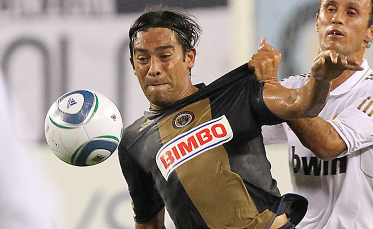Carlos Ruiz last played in MLS for the Philadelphia Union in 2011.