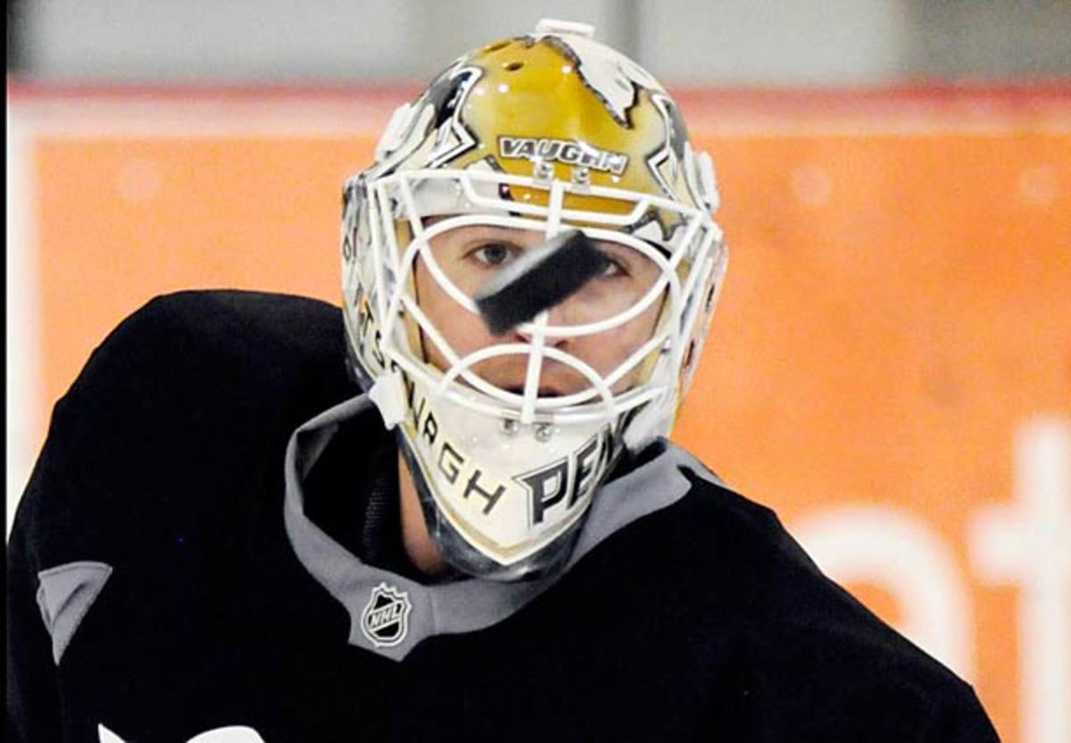 Marc-Andre Fleury is now under the gun with Tomas Vokoun out three to six months