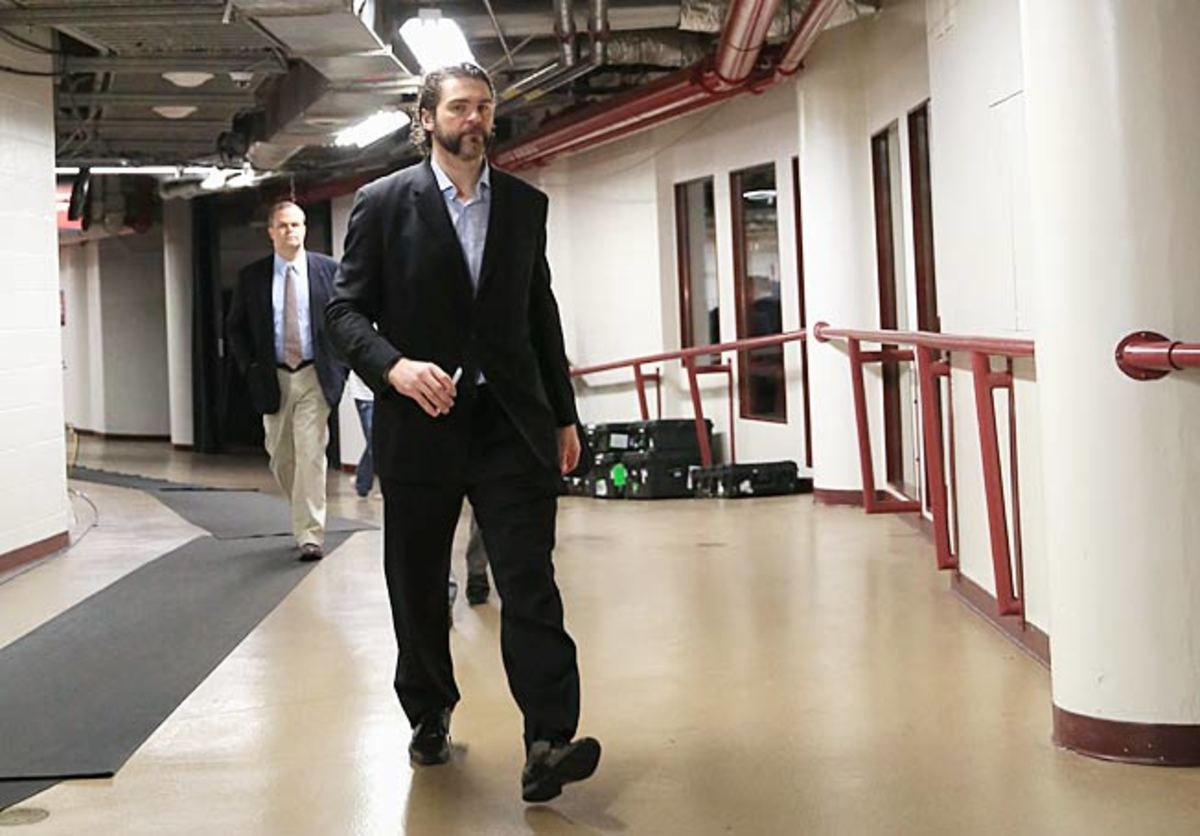At 41, a more buttoned-down Jaromir Jagr brings leadership, savvy, and fading skills to New Jersey.