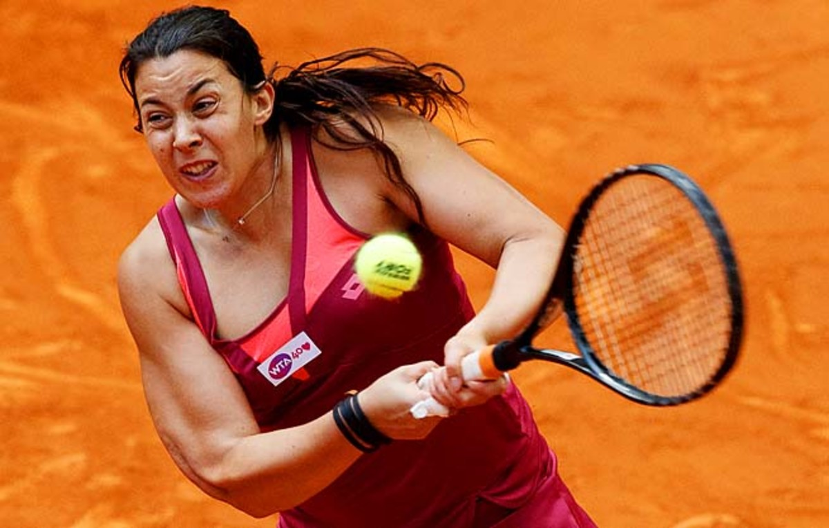 Marion Bartoli heads to the French Open, where she's made it past the fourth round once.