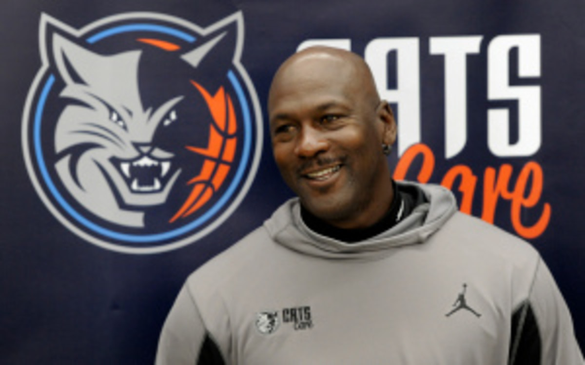 Bobcats owner Michael Jordan will suit up for one of Charlotte's games this season, said former NBA player and current media personality Jalen Rose. (Charlotte Observer/Getty Images)