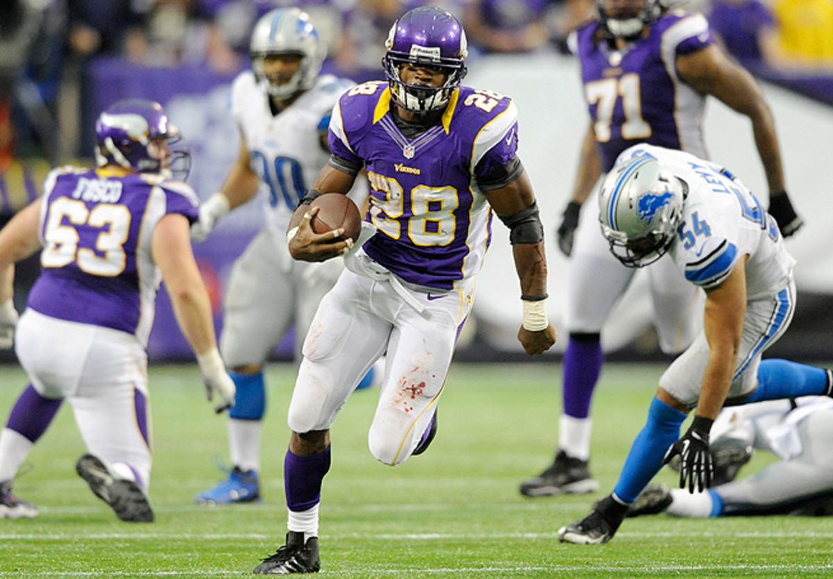 Adrian Peterson may not surpass 2,000 rushing yards again, but he'll still be the top player in fantasy.