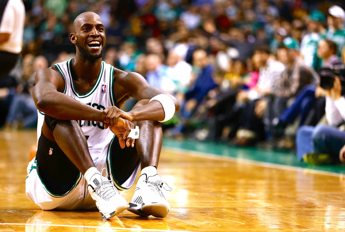 Kevin Garnett and the Celtics escaped with a tough win on Wednesday. (Jared Wickerham/Getty Images)