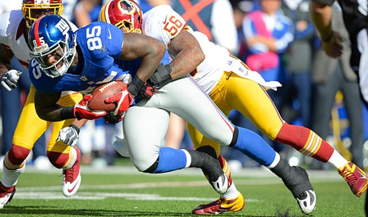 Martellus Bennett had a career year with the Giants, but will open 2013 with Chicago, his third team.