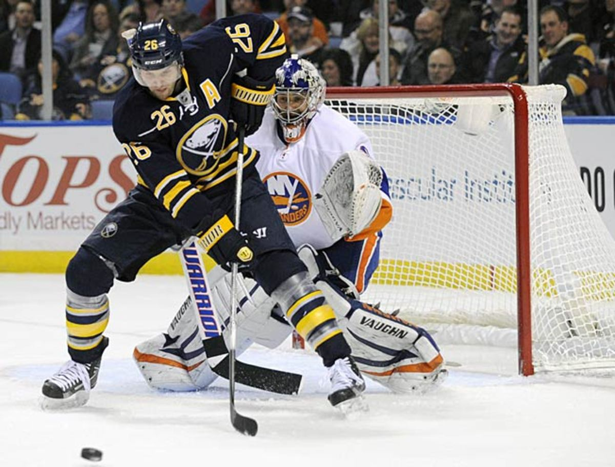 The 20 percent solution: Buffalo is on the hook for a chunk of Thomas Vanek's $6.4 million salary.