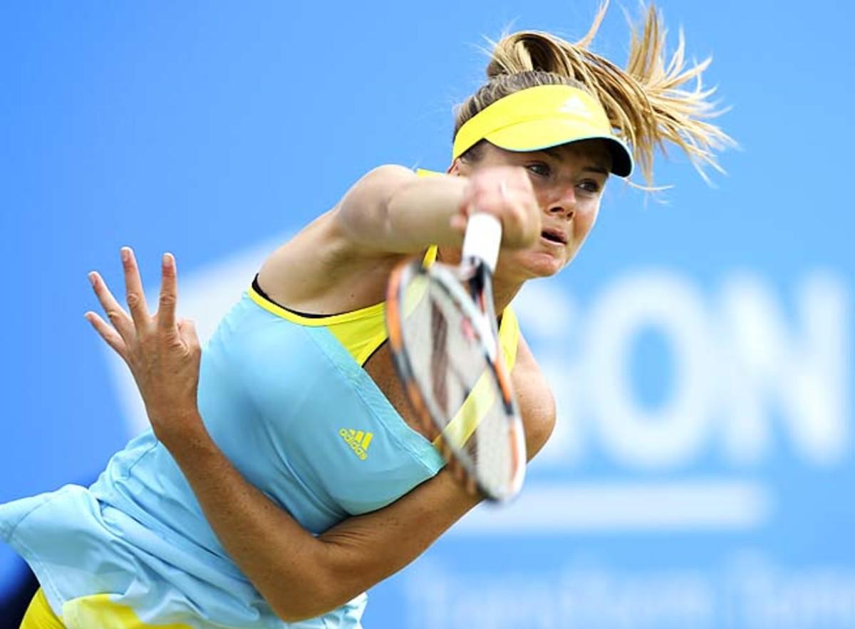 Daniela Hantuchova's best Wimbledon finish was making the quarterfinals in 2002.