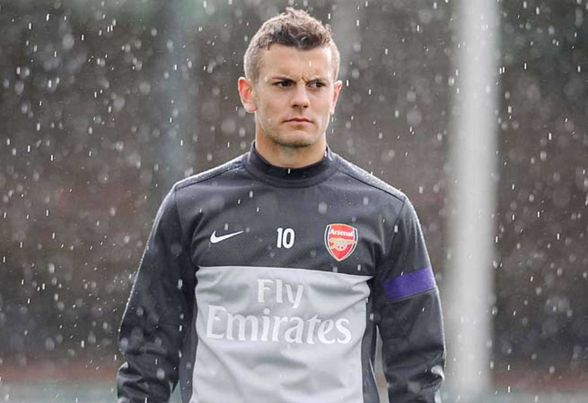 Jack Wilshere and Arsenal are in fifth place in the Premier League.