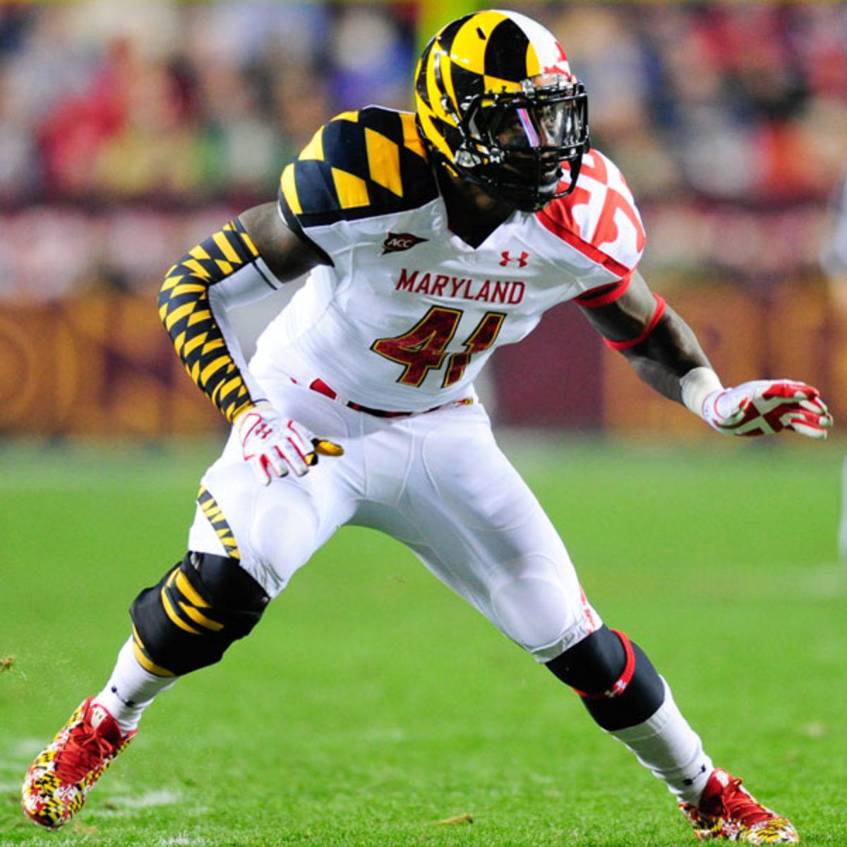 Maryland Terrapins Ugly Football Uniform