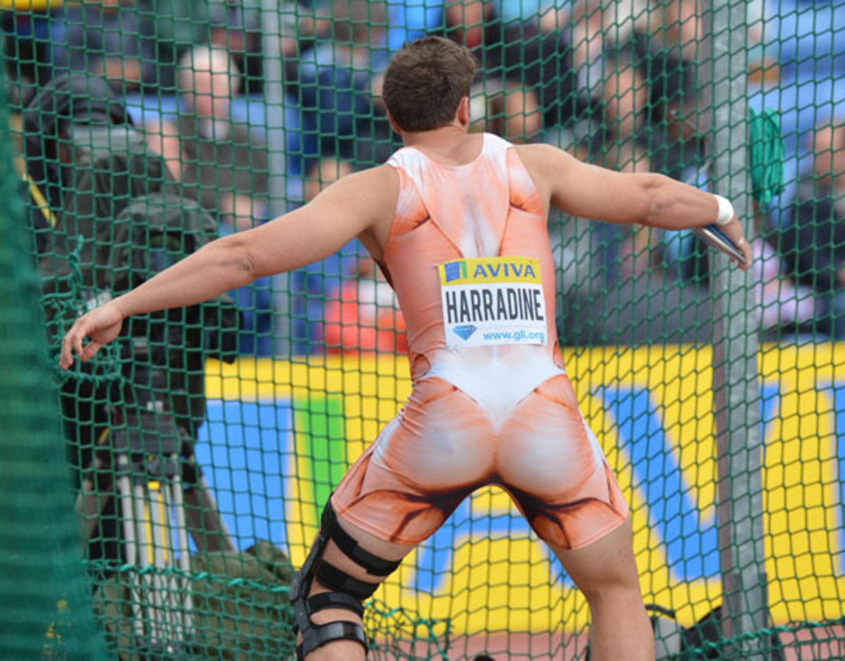 Australia Track and Field ugly uniforms
