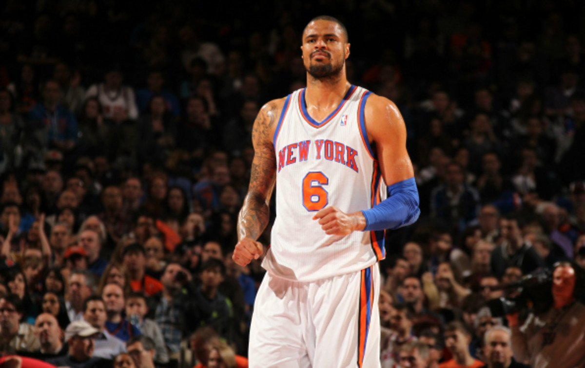 Tyson Chandler won the Defensive Player of the Year award in 2012. (Nathaniel S.Butler/National Basketball)