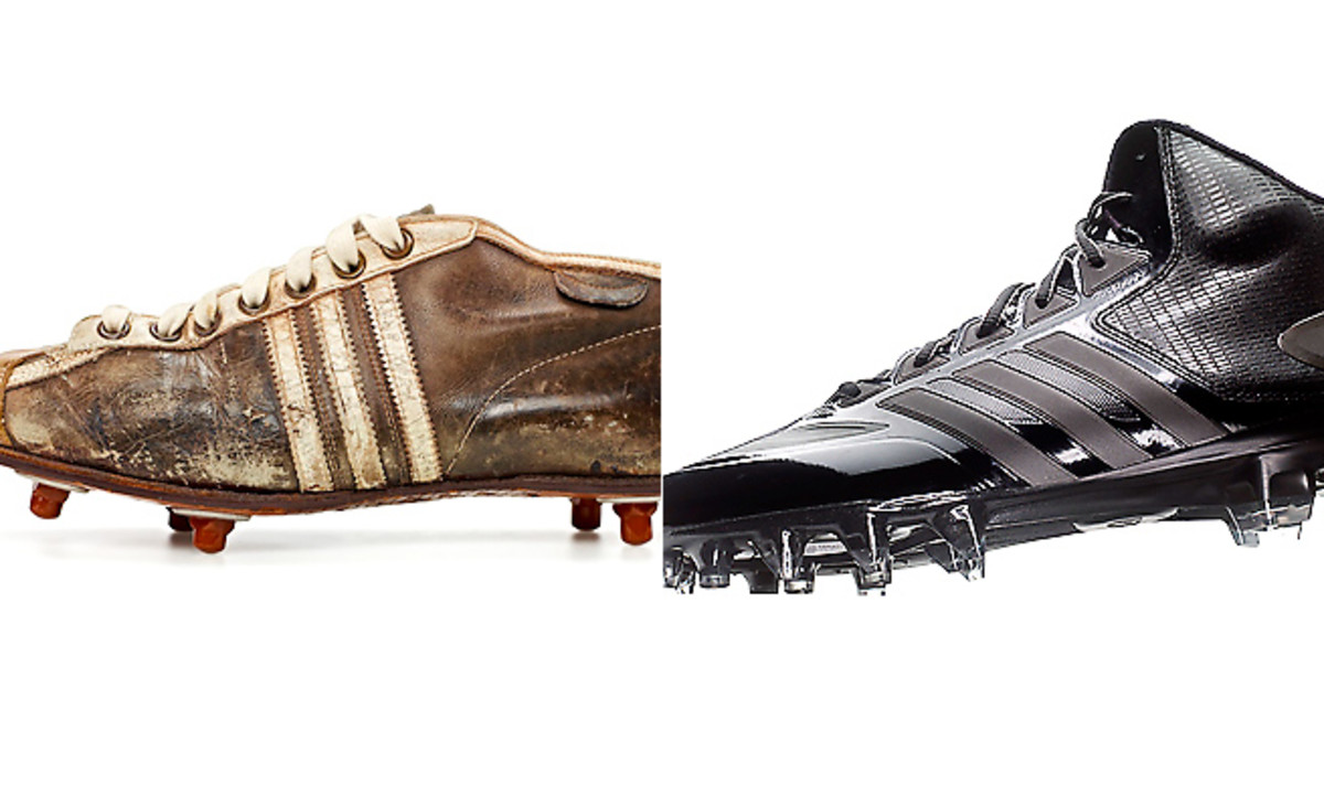 Cleats and the technology behind their design have come a long way in the 88-year history of the shoes.