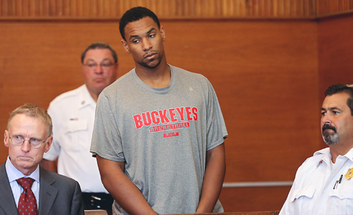 Jared Sullinger faces three charges in connection to a domestic confrontation with his girlfriend.