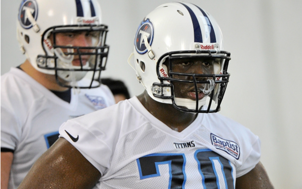 Titans rookie guard Chance Warmack agreed to a deal worth $12 million. (Frederick Breedon