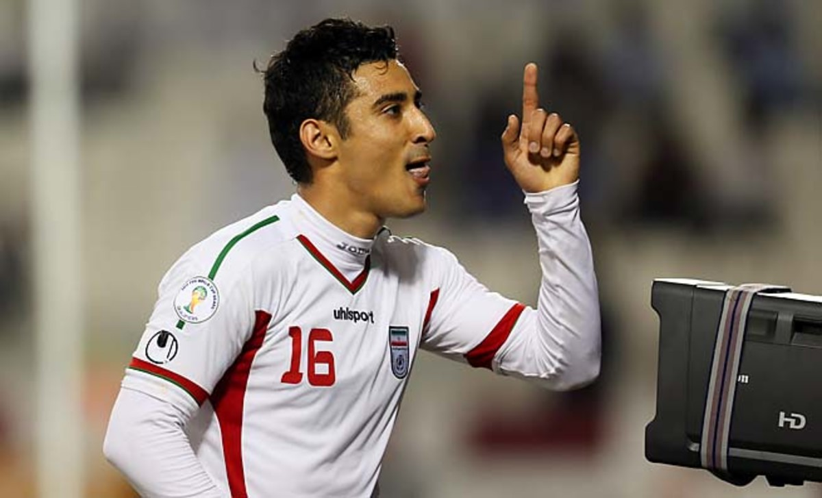 Reza Ghoochannejhad's Iran qualified for its third World Cup in the last five tournaments.