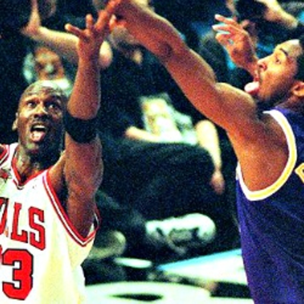 The last time the NBA  All-Star Game was held in NYC, Michael Jordan and Kobe Bryant led their teams in scoring. (Henny Ray Abrams/AFP/Getty Images)