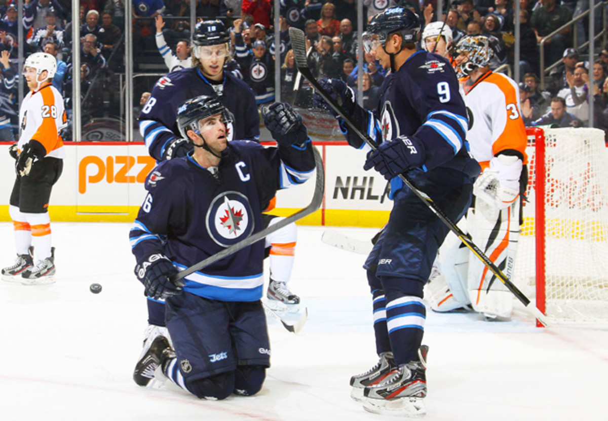 The Jets moved from Atlanta after the 2010-11 season but remain in the Southeast Division. (Jonathan Kozub/Getty Images)