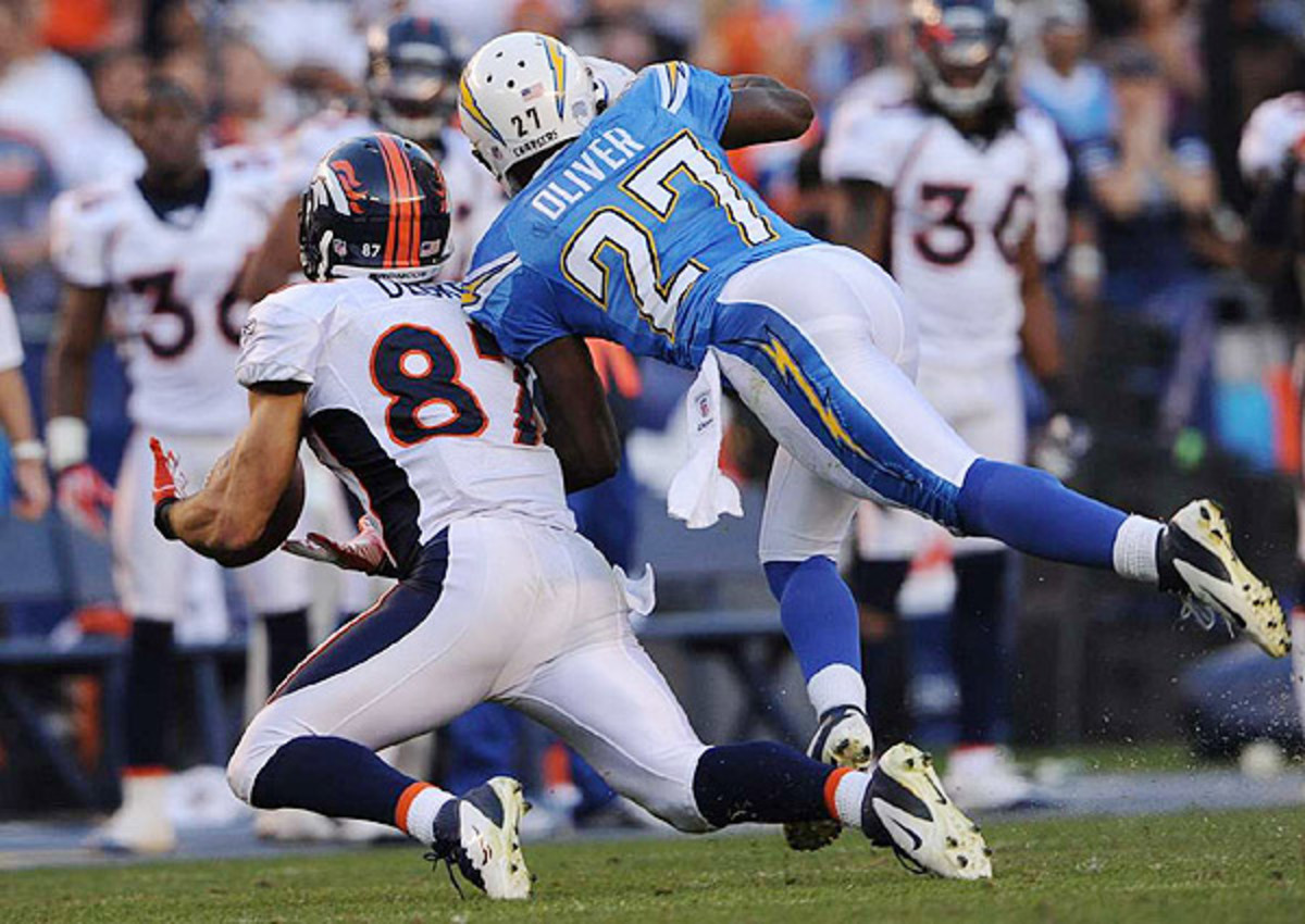 Paul Oliver spent four years with the San Diego Chargers.