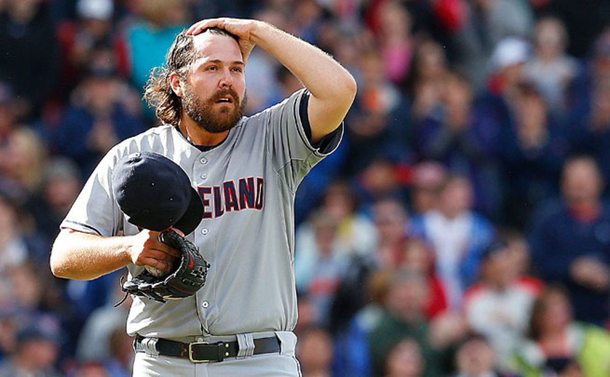 Chris Perez, a two-time All-Star, is on the disabled list at the moment with a shoulder injury.