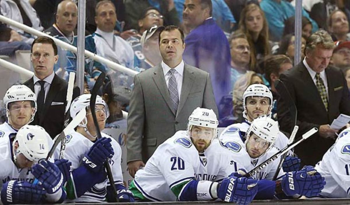 Alain Vigneault has been fired as coach of the Vancouver Canucks