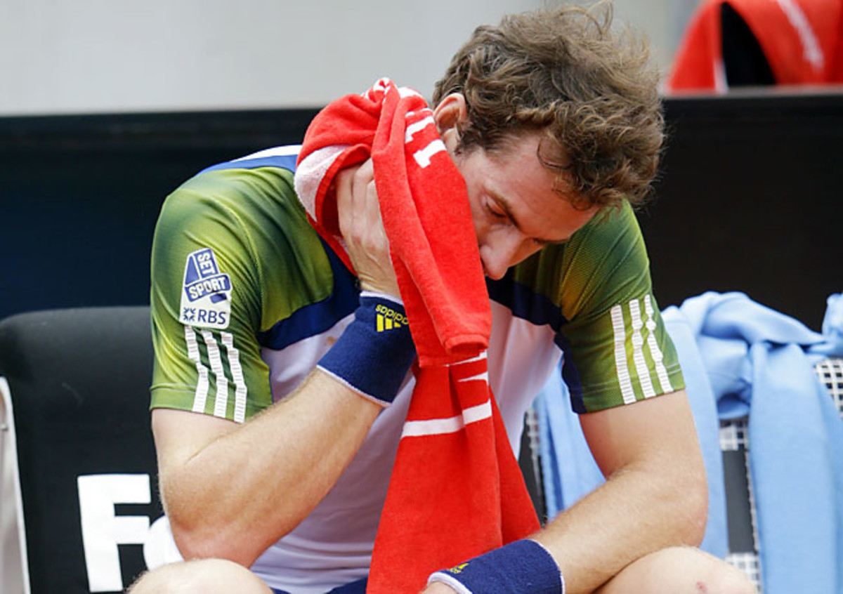 The French Open is the only major where Andy Murray has not yet reached the final.
