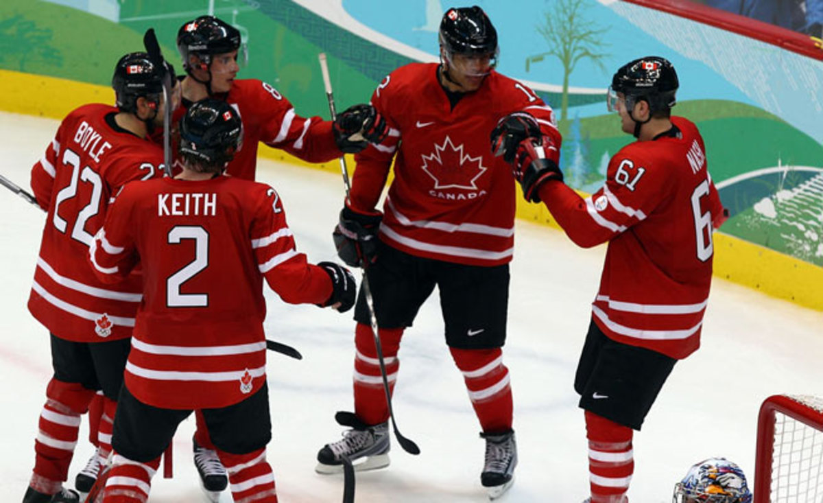 Canada won gold in 2010 on NHL-sized ice in Vancouver, but must adjust for a larger surface in Sochi.