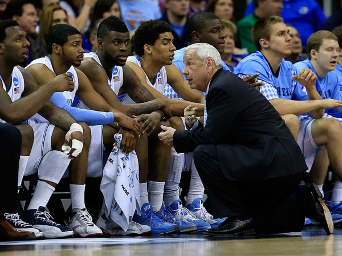 Roy Williams changed UNC's lineup considerably after the team's 26-point blowout loss to Miami. (Jamie Squire/Getty Images)